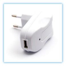 Caricabatterie Rapido USB 2,1 A/10 W