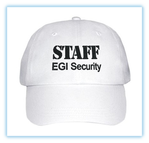 Cappellino EGI Security Staff