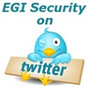 EGI Security on Twitter